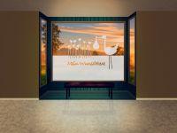Sichtschutzfolie | Fensterfolie Storch | Storchornament