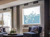 Sichtschutzfolie | Blickdichte Folie Kolibri | Kolibrimuster