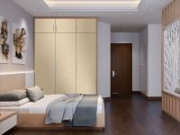 Möbelfolie für Schrank beige matt