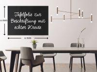 ZUSCHNITT Tafelfolie zur Beschriftung mit echter Kreide | Wandtafelfolie