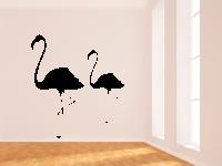 Flamingos Wandtattoo